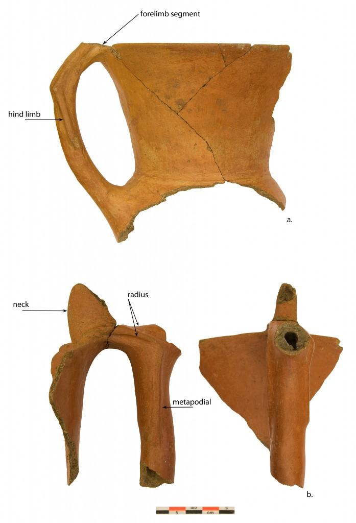 zoomorphic amphorae